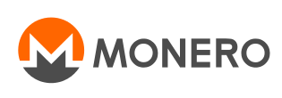 Monero text logo
