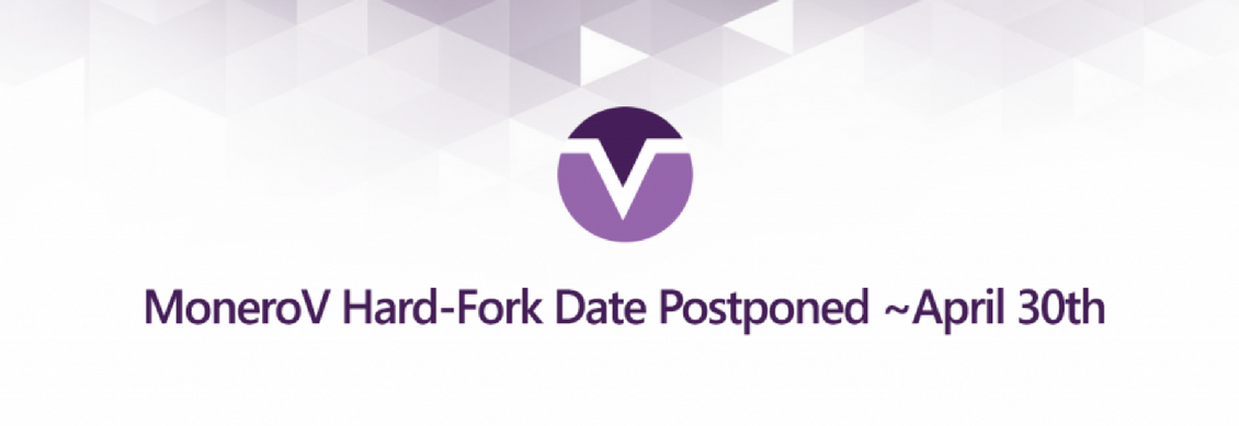 MoneroV hard fork postponed