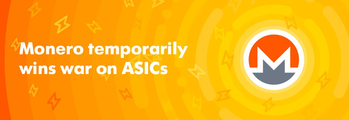 ASICs flash sale after XMR hard fork