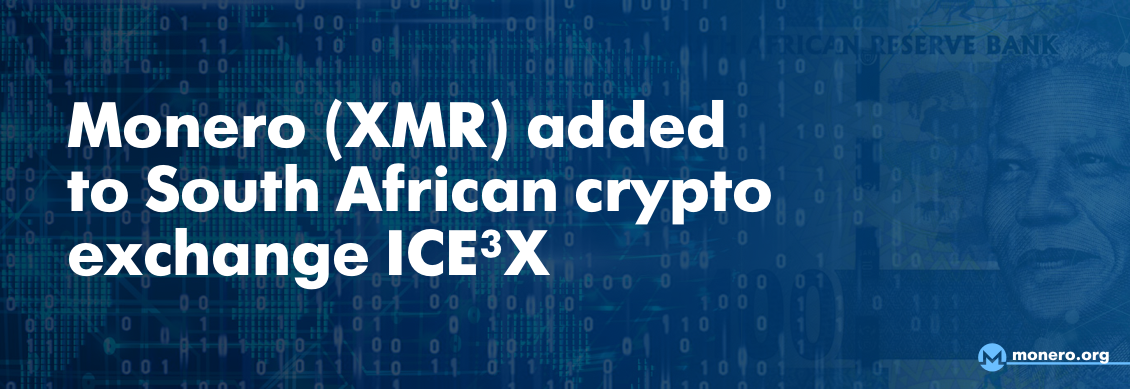 XMR on South African Exchange